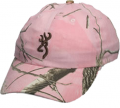 BROWNING Browning Realtree All Purpose Pink Camo Hat w/Buckmark