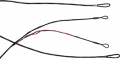 FIRST STRING PRODUCTS LLC First Draw Genisis String/Cable Set Mountain Berry/Black