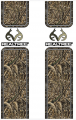 STOLTZ ENTERPRISES INC Bed Bands Accent Strips Realtree Logo w/Realtree Xtra
