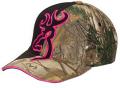 BROWNING Browning Big Buckmark Hat Realtree Xtra/Fuchsia