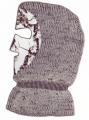 NATURAL GEAR Knit Facemask Snow Camo OSFA