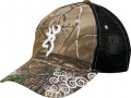 BROWNING Browning Womens Tagged OUt Cap Realtree Xtra Camo w/Violet