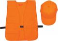 ALLEN CO INC Allen Hat & Vest Combo Orange Medium - Xlarge (OSFA)