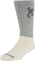 SIGNATURE PRODUCTS GROUP Browning Big Bertha Boot Sock Monument Grey