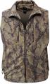 NATURAL GEAR Full Zip Fleece Vest Natural Camo Xlarge