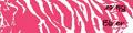 "BOHNING CO LTD Blazer Carbon Wrap 4"" Pink & White Tiger"