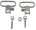 "BUSHNELL INC Mikes QD115 1"" Nickel Plated Sling Swivel"