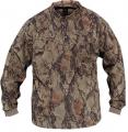 NATURAL GEAR Natgear 3 Button Layering Fleece Henley Large