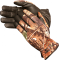 GLACIER OUTDOOR Glacier Lightweight Shooting Glove Realtree Xtra Camo Large