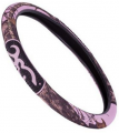 SIGNATURE PRODUCTS GROUP Browning 2 Grip Steering Wheel Cover Mossy Oak Breakup Pink