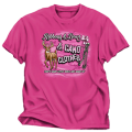 BUCK WEAR INC Ribbons & Bows & Camo Pink Tshirt Youth Large