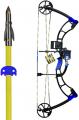 AMS BOWFISHING 17 AMS E-Rad Eradicator Bowfishing Bow Kit Right Hand