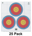 MAPLE LEAF PRESS INC 4-Color Fita Official 3-Spot Target (White Background)