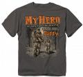 BUCK WEAR INC Youth My Hero Short Sleeve Shirt Medium