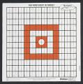 ALLEN CO INC Allen/Remington 100yd Sight-In Grid Style Target