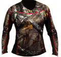 ROBINSON OUTDOOR PRODUCTS Sola 1.5  Performance L/S Shirt Trinity Tech Rltree Xtra Camo M
