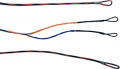 FIRST STRING PRODUCTS LLC First Draw Genesis String/Cable Set Blue/Flo Orange