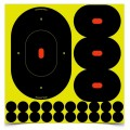 B275 Sht-N-C 9In Oval Tgt 5Pk