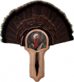 "WALNUT HOLLOW Deluxe Turkey Display Kit ""Turkey Profile"""