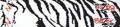 BOHNING CO LTD Blazer Carbon Wrap White Tiger