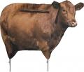 MONTANA DECOY CO Big Red Cow Decoy