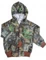 BONNIE & CHILDRENS SPORTSWEAR Sweat Jacket Mossy Oak Breakup 4 - 5