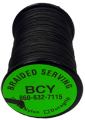 BCY INC 350 Nylon Braid .015 Serving Black 125YD Spool