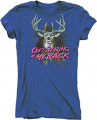 BUCK WEAR INC Ladies Quit Staring Iris Short Sleeve T-Shirt Large