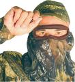 QUAKER BOY INC Quaker Bandito Elite Face Mask Breakup