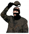 "PRIMOS HUNTING CALLS Primos Black Stretch Fit 3/4"" Mask"