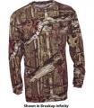 WALLS INDUSTRIES INC Mossy Oak Long Sleeve Tshirt Breakup Infinity 2Xlarge