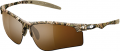 SIGNATURE PRODUCTS GROUP SPG Drop Tine Sunglasses Mossy Oak Shadow Grass Brwn Polar Len