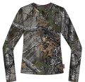 WALLS INDUSTRIES INC Womens Long Sleeve Tshirt Realtree Xtra Camo Small