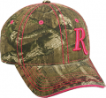 OUTDOOR CAP COMPANY INC Ladies Remington Pink R Hat Mossy Oak Infinity