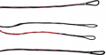 FIRST STRING PRODUCTS LLC First Draw Genesis String/Cable Set Red/Black