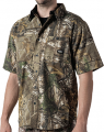 WALLS INDUSTRIES INC Cape Back Short Sleeve Shirt Realtree Xtra Camo 2Xlarge