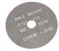 APPLE ARCHERY PRODUCTS LLC Apple Black Sil.025 Cutoff Blade