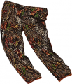 WEBER CAMO LEATHER GOODS Camo Capris Medium