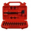 Win Brass & Steel Punch Kit 15Pc