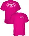 PIVOTAL PARTNERS LLP Duck Commander Logo S/S Tshirt Pink Large
