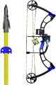 AMS BOWFISHING 17 AMS E-Rad Eradicator Bowfishing Bow Kit Left Hand