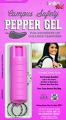 SECURITY EQUIPMENT CORP * Sabre Pink Campus Safety Pepper Gel