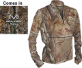 PROIS HUNTING APPAREL Womens Ultra Back Country Shirt Large Realtree Xtra Camo