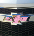 STOLTZ ENTERPRISES INC Auto Emblem Kit Xtra Pink