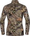 SCENTLOK Womens Nexus Active Weight L/S Shirt Mossy Oak Country Medium