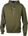 SIGNATURE PRODUCTS GROUP Youth Buckmark Camo Sweatshirt Loden Small