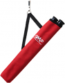 OCTOBER MOUNTAIN PRODUCTS Adventure 2 Tube Hip Quiver Red Right/Left Hand