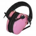 E-Max Low Profile Elec Hearing Prot Pink