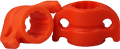 "AMS BOWFISHING AMS 5/16"" Safety Slide Orange"