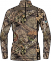 SCENTLOK Womens Nexus Active Weight L/S Shirt Mossy Oak Country Small